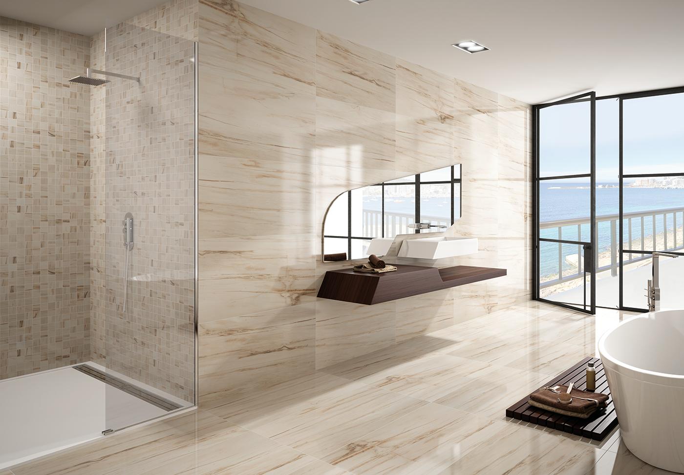 Renjo center fliesen natursteine in giessen for Gestaltung eines badezimmers